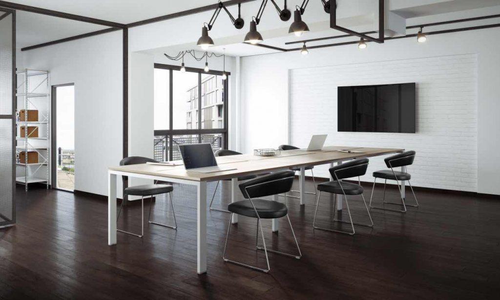 mesa de reunion modelo PORTICO REUNION de syncro21