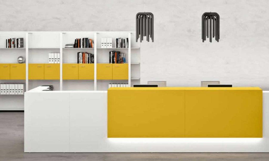 mueble de recepcion modelo QDF Z2 de syncro21