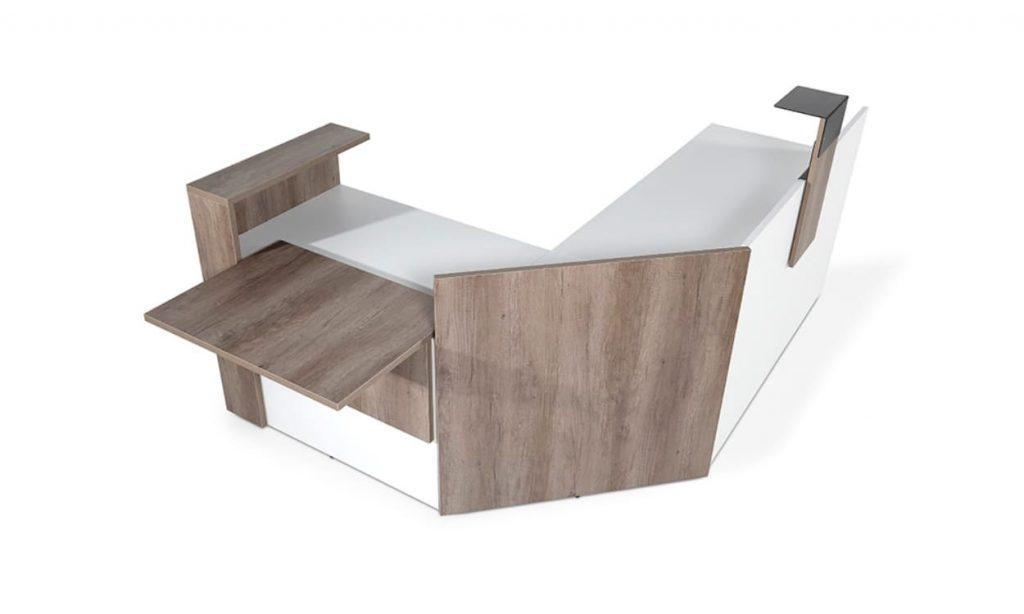 mueble de recepcion modelo M3 de syncro21
