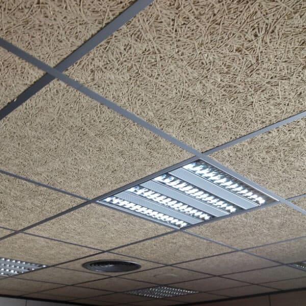 creación de espacios de trabajo y falsos techos