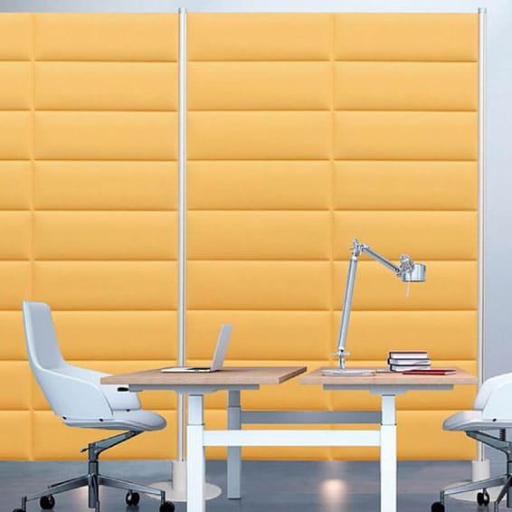 creación de espacios de trabajo y fonoabsorbencia