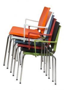 silla de colectividades apilables modelo dlf atenea