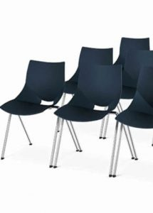 silla de colectividades apilables modelo ateneahgo calipso