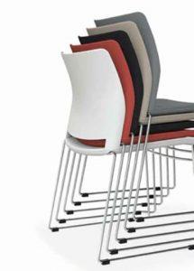 silla de colectividades apilables modelo hgo selki3