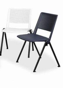 silla de colectividades apilables modelo hgo star