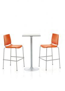 silla de colectividades taburetes modelo dlf atenea