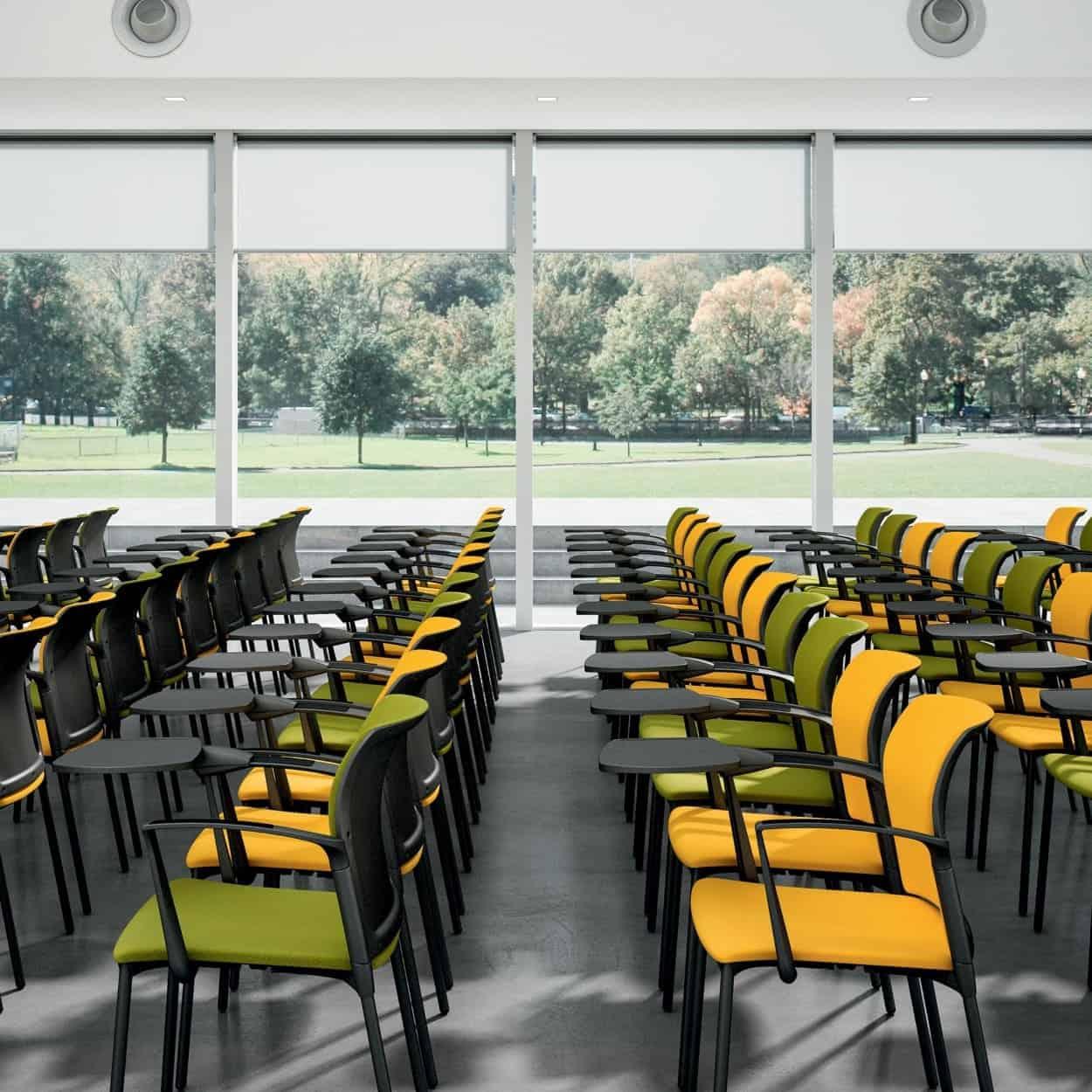 Silla Colectividad Apilable Qdf College