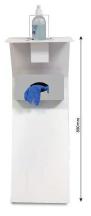 Dispensador de pie gel / guantes