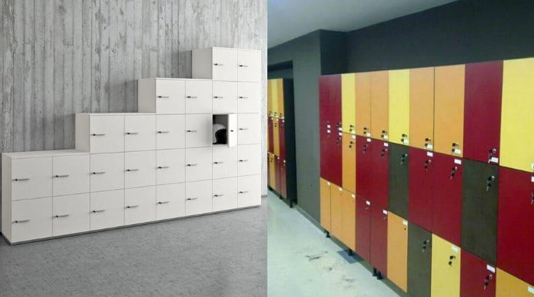 taquillas para oficinas fenólicas o de melamina